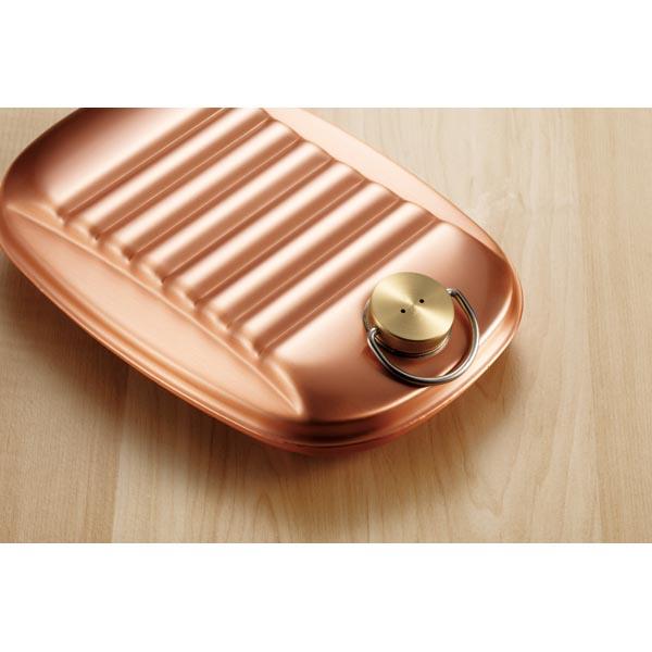 新光金属 純銅製 湯たんぽ 袋付 小 1.2L S-9395S