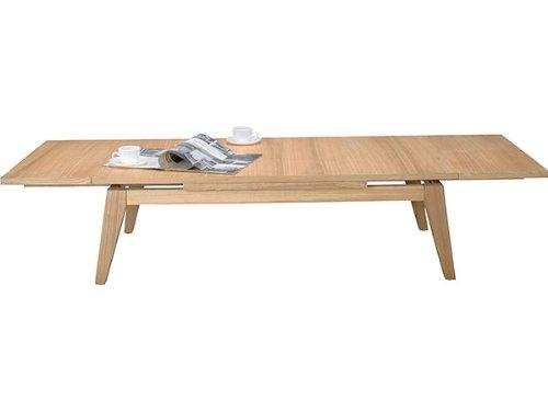 幅120センチエクステンションテーブル伸縮テーブル テーブルナチュラル色AZCPN-102NA