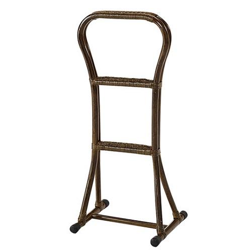 ステッキ/つかまり立ち/膝痛腰痛軽減グッズ/自宅用/籐製 つかまり立ちステッキ (大) Y33B Y-33B
