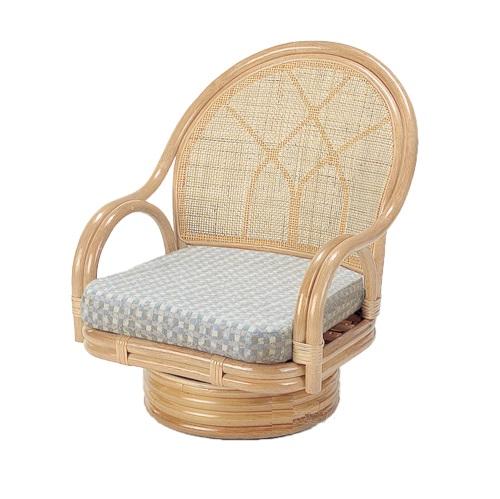 回転座椅子/ラウンドチェアー ミドルタイプ S365 S-365