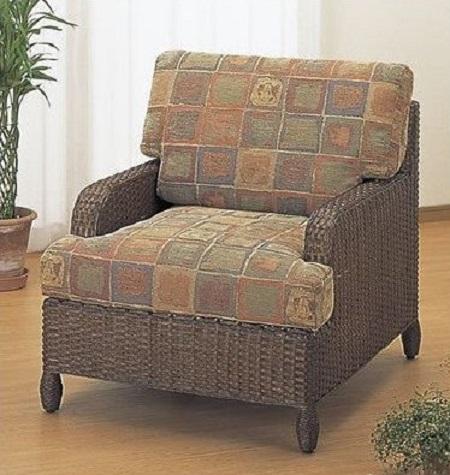 今枝商店 籐家具 ラタン家具 一人掛けソファ アームチェア 単品 Y111B Y-111B