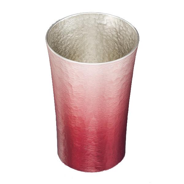 錫製 タンブラー 200ml 木箱入り 赤色 16-1-1RD