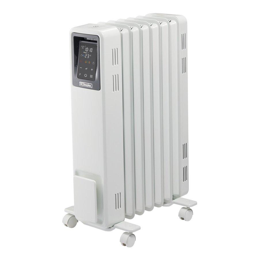 急速暖房と省エネ性8~10畳用デジタルパネル式オイルを使わないオイルフリーヒーターブリット B04ヒーター・暖房ディンプレックスECR12E ホワイト