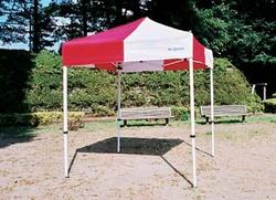 180×180センチ部品一体式クイックテント テントミスタークイックT-11スチールアルミ 複合タイプ180×180センチ