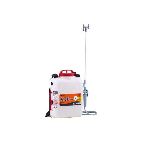 工進 背負式 乾電池 噴霧器 DK-7D