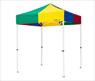 180×180センチ部品一体式クイックテント テントミスタークイックTA-11総アルミタイプ180×180センチ
