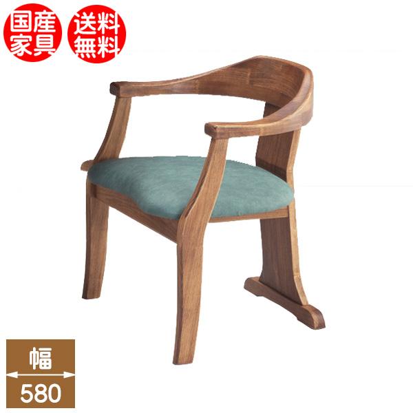 国産ダイニングチェア 食卓椅子 レザー張り 国産家具 無垢材オーダーチェア