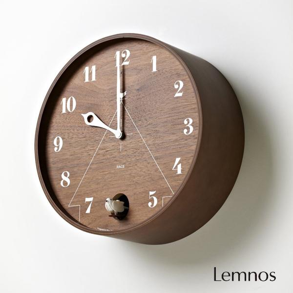 ポイント最大20倍!【Lemnos/レムノス】 PACE パーチェ 壁掛け時計【お洒落 おしゃれ 鳩時計 北欧 可愛い かわいい カッコー 】