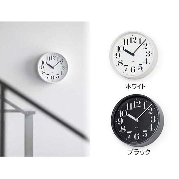 ポイント最大20倍!【Lemnos/レムノス】 RIKI STEEL CLOCK リキスチールクロック[電波時計]