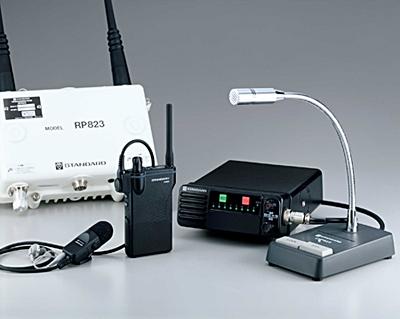 無線インカムシステム 多人数同時通話型 スタンダード MICS Pro 親機セット