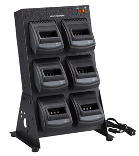 スタンダード 6連式 急速充電器 CSB824B 八重洲無線 無線インカムシステム MICSシリーズ チャージャー