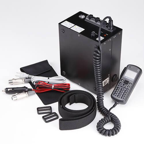 ソフトバンク 車載型 IP無線機 3Way電源 可搬型バッテリー搭載ボックス ARC-70VR