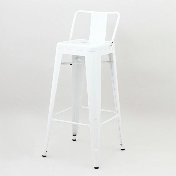 バーカウンターに最適な丈夫でお洒落なハイチェア 商品名:Marine High Chair マリン 公式ストア ハイチェア Premium デザイナー:グザビエ 5%OFF ポシャール バースツール 復刻製品 通販 鉄 デザイン リプロダクト スチール BAR ジェネリック