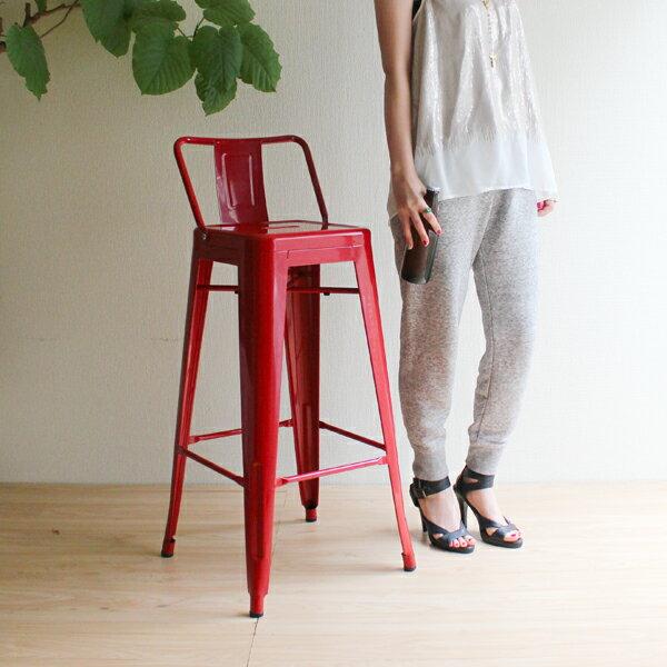 商品名:Marine High Chair(マリン・ハイチェア)Premium【デザイナー:グザビエ・ポシャール】【リプロダクト・ジェネリック・復刻製品】【バースツール】【スチール】【鉄】【BAR】【デザイン】【ハイチェア】【ハイスツール】