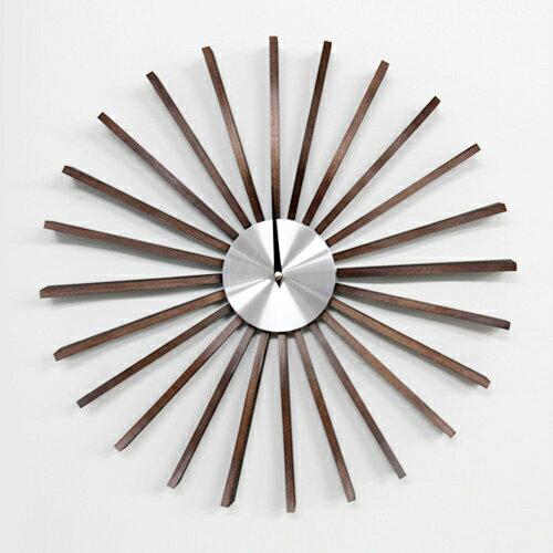 【正規ライセンス】【デザイナー:ジョージ・ネルソン】商品名: FLUTTER clock(フラッター・クロック)【壁掛け時計 】【時計 】【ミッドセンチュリー】【有名】【名作】【木製】【デザイナーズ】【オブジェ】【】【通販】