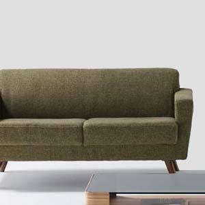 商品名:GARAGE ソファ 2人掛【sofa 】【ファブリック 】【北欧 】【デザイン】【SGS】【】【通販】【549】