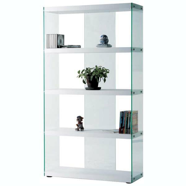 商品名:FLOAT グラスシェルフ - L【本棚】【ブックシェルフ】【階段収納】【棚】【飾り棚】【ガラス】【HAB】【】【通販】【624】【ガラス】【ディスプレイ】【フィギュア】【盆栽】【雑貨置き】