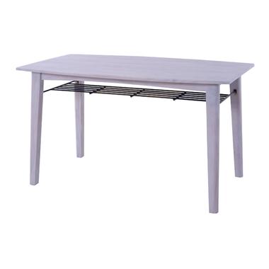 商品名:GRACE ダイニングテーブル w130【スチール】【SPM】【ブラウン】【ダイニング】【カフェ】【アイボリー】【ラック】【天然木】【収納】【】【通販】【304】【木製】【フレンチ】【シック】