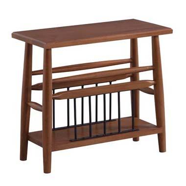 これであなたも収納上手 テーブルの中に 本やテレビのリモコンを収納できるサイドテーブルです 商品名:GRACE サイドテーブル スチール SPM 信用 ブラウン 全店販売中 カフェ アイボリー 313 リビング 通販 新生活 マガジンラック 収納 一人暮らし 木製