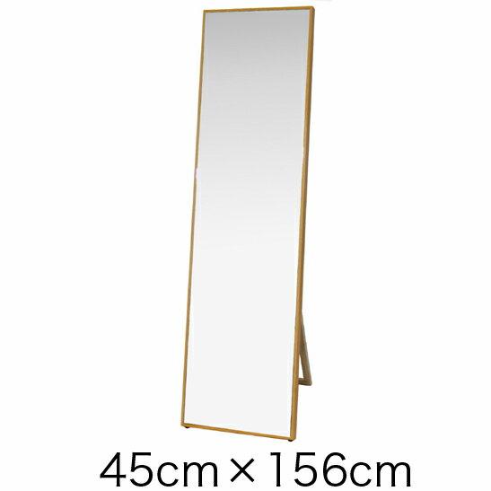 商品名:REME ミラー(壁掛式・自立式兼用)【木製】【壁掛】【自立】【鏡】【ミラー】【姿見】【幅45cm】【シンプル】【】【通販】