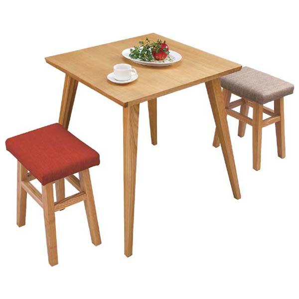 商品名:COMET ダイニングテーブル【木製】【ナチュラル】【正方形】【デザイン】【CL】【小型】【ダイニングテーブル】【木目】【テーブル】【】【通販】【786】