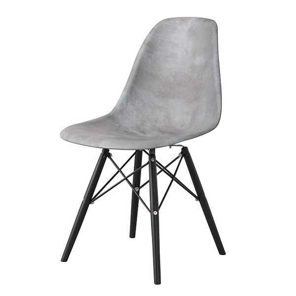 長年愛されるイームズの代表作DSWに石のような仕上げの珍しい逸品 デザイナー:チャールズ レイ イームズ 商品名:シェルサイドチェア DSW WEB限定 ストーン 復刻版 ジェネリック 895 SCL 商店 椅子 デザイナーズ リプロダクト 珍しい ダイニングチェア PCチェア DSR