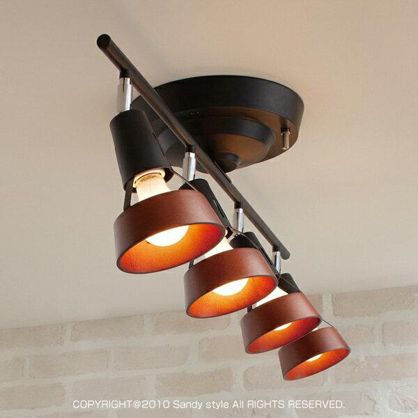 商品名:Core-remote celing lamp(コア・リモートシーリングランプ)【リモコン付き】【4灯】【白熱球】【240W】【角度調節】【調光】【ペンダント】【】【通販】