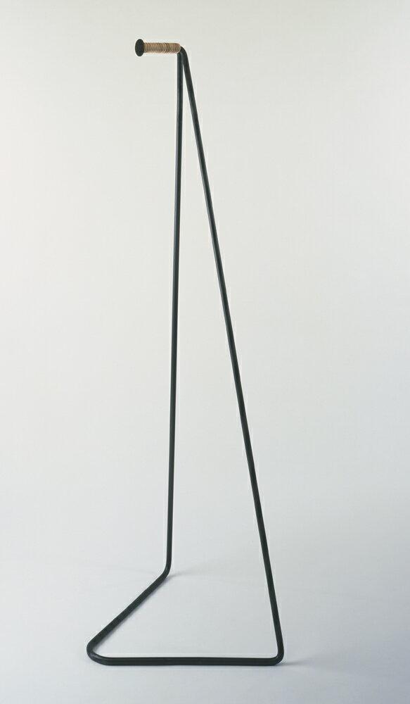 【日本製】【デザイナー: 小泉 誠】Miyakonjo Product(ミヤコンジョプロダクト)商品名:TETSUBO(革巻コートハンガー)【ハンガー】【鉄】【丈夫】【耐久性】【デザイン】【都城】【カラーバリエーション】【】【通販】