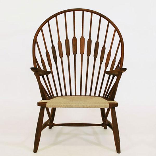 【デザイナー:ハンス・J・ウェグナー】 商品名:ピーコックチェア【ハイクラス・リプロダクト/復刻版/保証付き】【北欧】【ラウンジチェア】【セミオーダー】【デザイナーズ家具】【ウィンザー】【孔雀】【木製椅子】【書斎】
