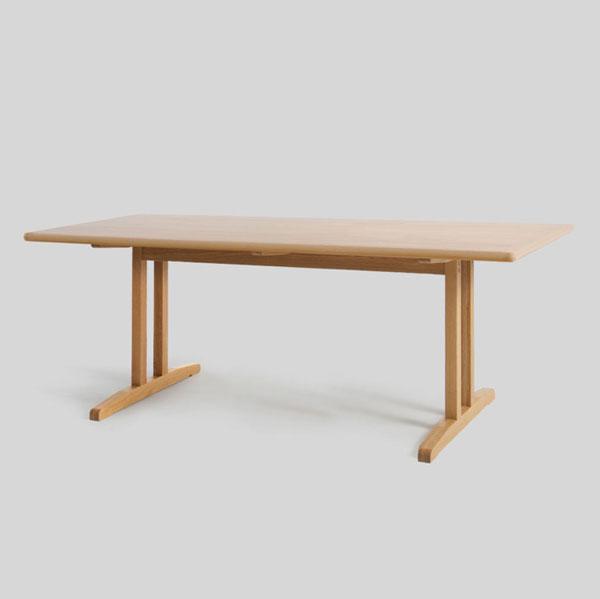 【デザイナー:ボーエ・モーエンセン】商品名:C18 ダイニングテーブル w160【ハイクラス・リプロダクト/復刻版/保証付き】【ダイニングテーブル】【オフィス】【北欧】【カフェ】【木製】【160cm】【レストラン】