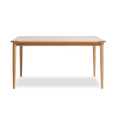 商品名:ノルディック・テーブル(140)【保証付き】【木製】【天然木】【無垢】【Yチェア】【ザチェア】【北欧風】【シンプル】【ダイニングテーブル】【ダイニングテーブル】【140cm】【木製テーブル】