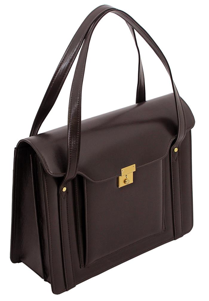 映画「紙の月」宮沢りえさんが着用 S-600渉外鞄レディースビジネスバッグ A4 自立 被せ式ブリーフケース 豊岡製(まとめ買いサービス対象商品)