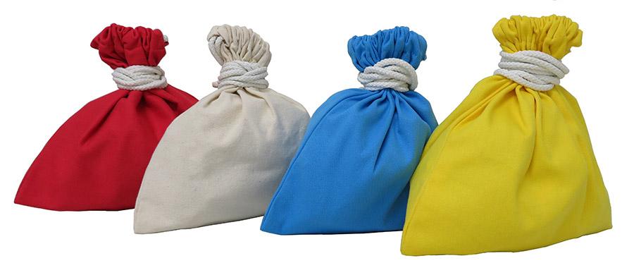送料無料 現金回収業務に使い易くて丈夫な11号帆布の巾着 専門店 11号帆布 硬貨集金用巾着袋 コインケース 小銭入 通販 両絞りタイプ コイン袋