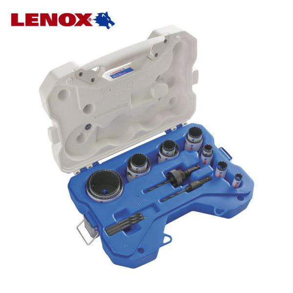 LENOX 店内限界値引き中 セルフラッピング無料 出色 バイメタルホールソーセット 30820-1200G