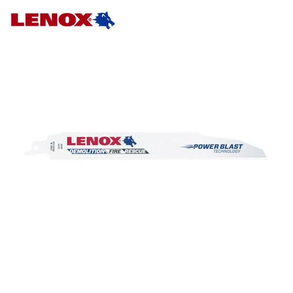 高い耐久力 高速切削 在庫あり 多目的性 LENOX レノックス バイメタルセーバーソーブレード 解体 レスキュー作業に伴う木材や金属の切断等用 2枚入り 全長225mm×幅20mm×刃厚1.6mm 20597-960R 電動ノコギリ刃 レシプロソー 先端工具 山数10T 予約販売 切断工具