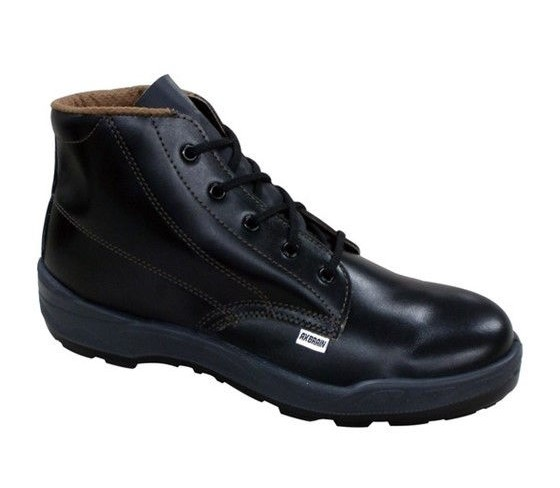 AX 公式サイト BRAIN アックスブレーン ご予約品 安全靴 ハイカット 牛革靴 25.5cm 中編上靴タイプ AFL-255
