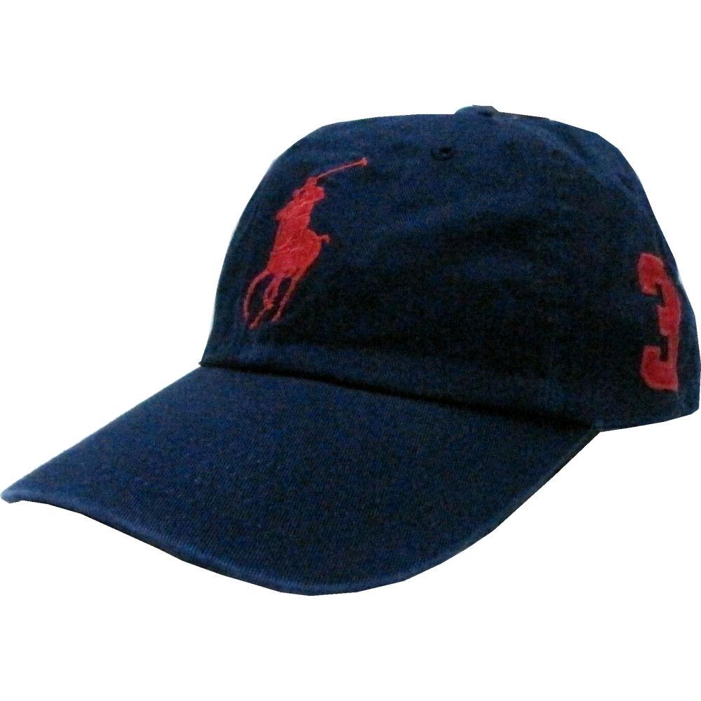sanfan  POLO RALPH LAUREN (polo Ralph Lauren) big pony logo cap ... f4b4c9e45e37