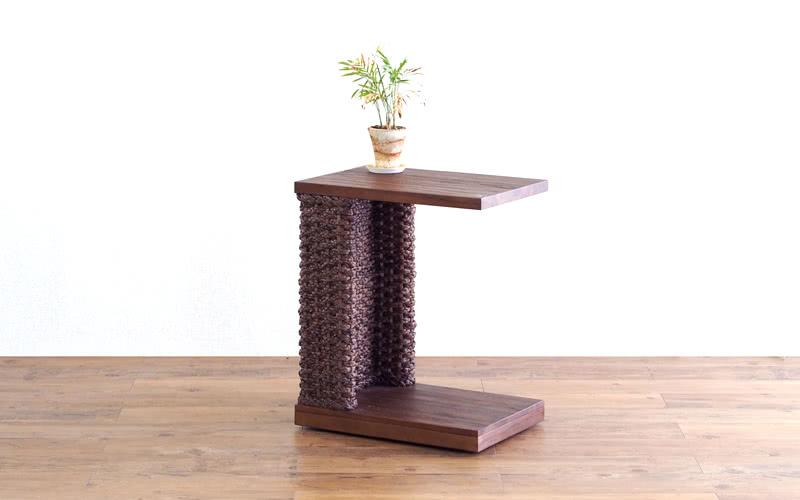 サイドワゴンテーブル 家具 インテリア テーブル 癒やし リゾート風 木製