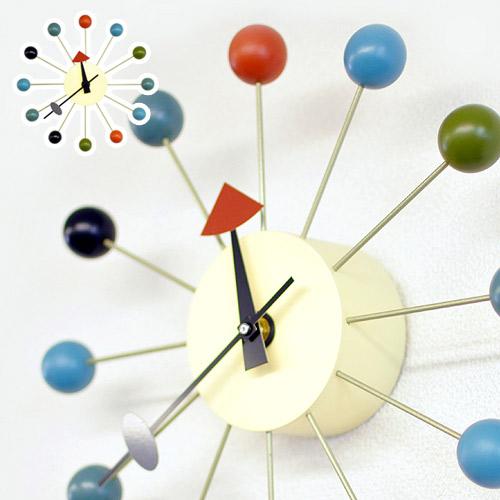 ジョージネルソンデザイン ボールクロックCL-09ネルソン クロック リプロダクト商品 ミッドセンチュリー アート おしゃれ 時計 通販 AWL