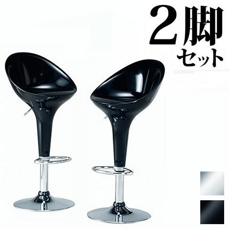 バーチェアーWCH-4633 カウンターチェアー カウンター椅子 イス 椅子 バー スタンドチェア モダン シック デザインチェア 白ホワイト黒ブラック スタイリッシュ 通販 AWL