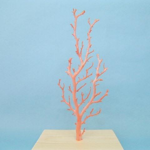 ピンク(ガーネ)珊瑚の原木・拝見・置き物(艶出し加工済み)送料無料【smtb-KD】