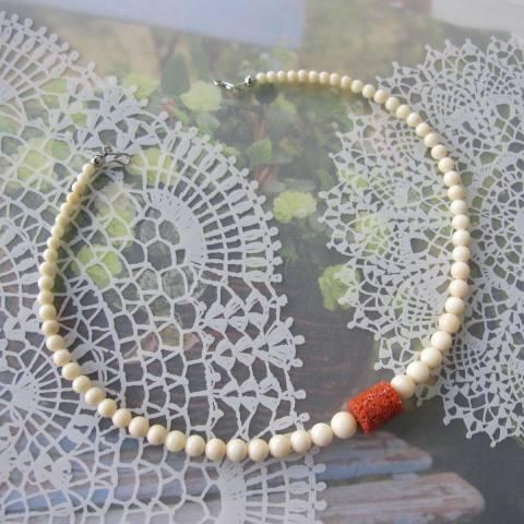 高知産赤珊瑚とシナ海珊瑚のお相撲さんの羽織紐/和小物/『宝石サンゴ』