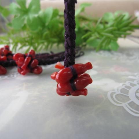 再販 選べる お守り 厄除けにおススメ 高知産赤珊瑚無病息災の根付け マーケティング 正絹 六瓢箪 根付 和装 帯飾り 物品