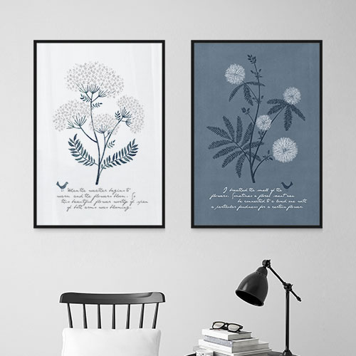 お部屋をおしゃれに彩るアートポスター ボタニカル 北欧 植物 デザイン アート 50×70cm ポスター 通販 おしゃれ 海外 モダン 希望者のみラッピング無料 スティルブルーミング プリント 花 インテリア ※フレームなし