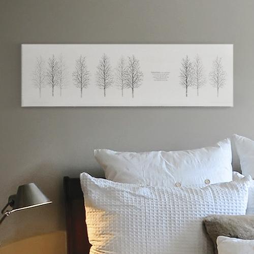 ファブリックパネル モノトーン 北欧 インテリア アート パネル グリーン おしゃれ ファブリックボード 木製 ウォールデコ キャンバス サンサンフー ウィンターワルツ88x25