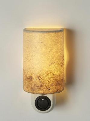 キャンペーンもお見逃しなく 足下を照らし 暗闇での移動に役立つナイトライト ナツメ球 5W E12 ×1灯 和風照明 早割クーポン ナイトライト NL-4A YDKG-k W6cm×H12cm×D5cm 和室 おしゃれ 照明 smtb-k KB 創作和紙白茶