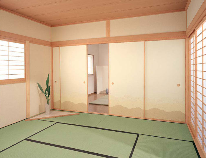 【純国産畳 2層型建材床 綿麻W(6帖新調) 桜-SAKURA-】【YDKG-k】【smtb-k】【KB】