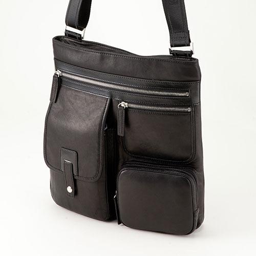 平野鞄 ハミルトン 馬革縦型マルチショルダーバッグ 16380 1個