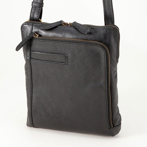 平野鞄 ハミルトン 牛革縦型ショルダーバッグ 16420 1個