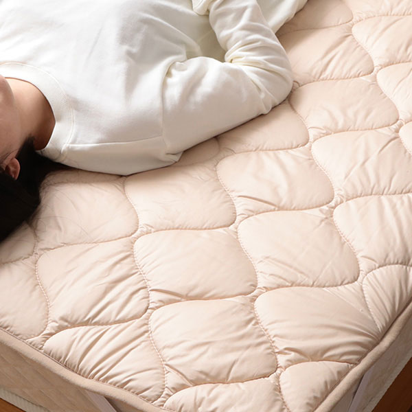 メルクロス アドバンサ 洗える吸水速乾抗菌防臭ベッドパット ダブル 179801BZ14 1枚